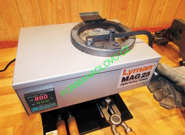TAVÍCÍ PEC LYMAN MAG 25 DIGITAL MELTING FURNACE