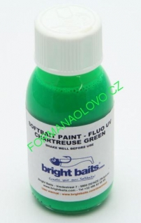 BRIGHT BAITS-SOFTBAIT PAINT FLUO CHARTREUSE GREEN 30ML.